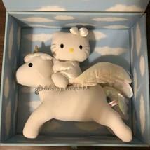 Hello Kitty White Rare Plush Doll 25th Anniversary Sanrio - $340.04