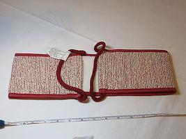 Avon womens ladies Exfoliating Strap for back burgandy F3467491 NEW ;; - $19.78