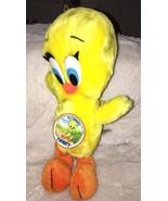 "1990 24K Co. Special Effects BABY TWEETY Orange Feet Plush 12"" NWT Warne... - $16.82"