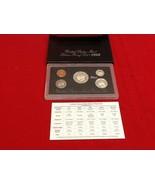 1992 S U.S. Mint SILVER Proof Set Original Box & COA - $25.00