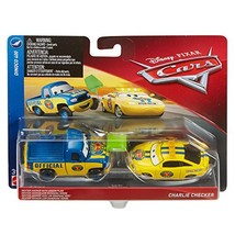 Disney Pixar Cars Character Car Dexter Hoover & Charlie Checker Vehicle, 2 - $16.83