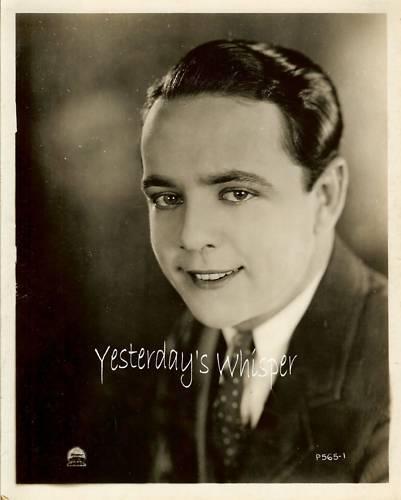 1920s Paramount Silent Actor Photo perhaps Robert Agnew