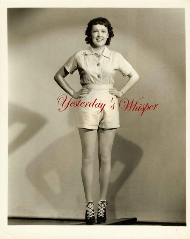 Leggy Starlet Patricia Farr Irving 1937 Lippman Photo