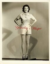 Leggy Starlet Patricia Farr Irving 1937 Lippman Photo   image 1