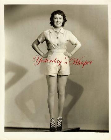 Leggy Starlet Patricia Farr Irving 1937 Lippman Photo   image 2