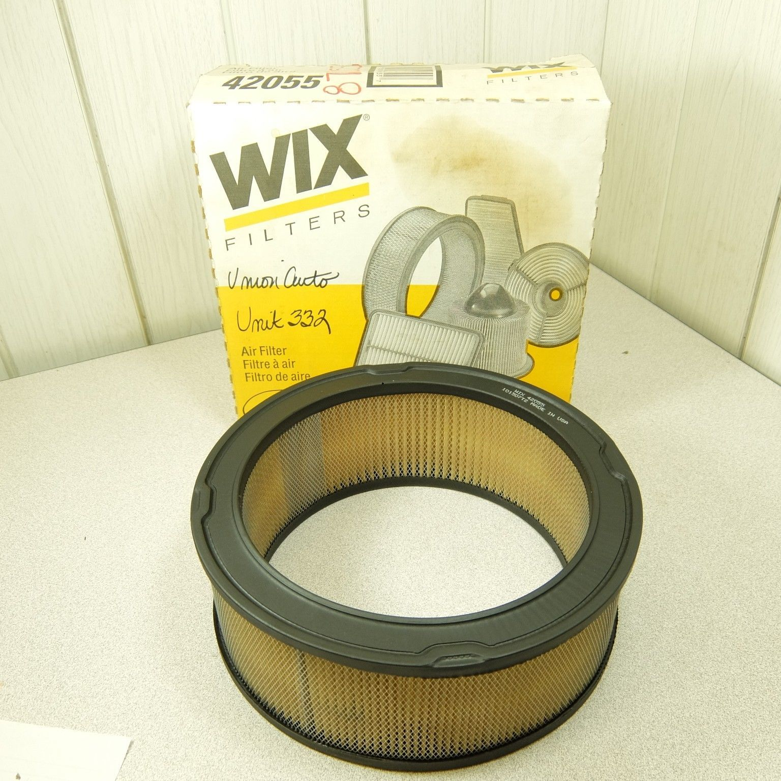 Wix 42055 Air Filter fits Ford Fairlane Galaxy Bronco some Pickups - $7.00