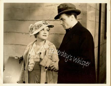 1930s Wynne Gibson Hat John Darrow Original Film Photo