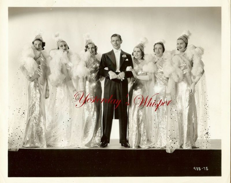 Broadway Melody of 1938 Costume Starlets Vintage Photo
