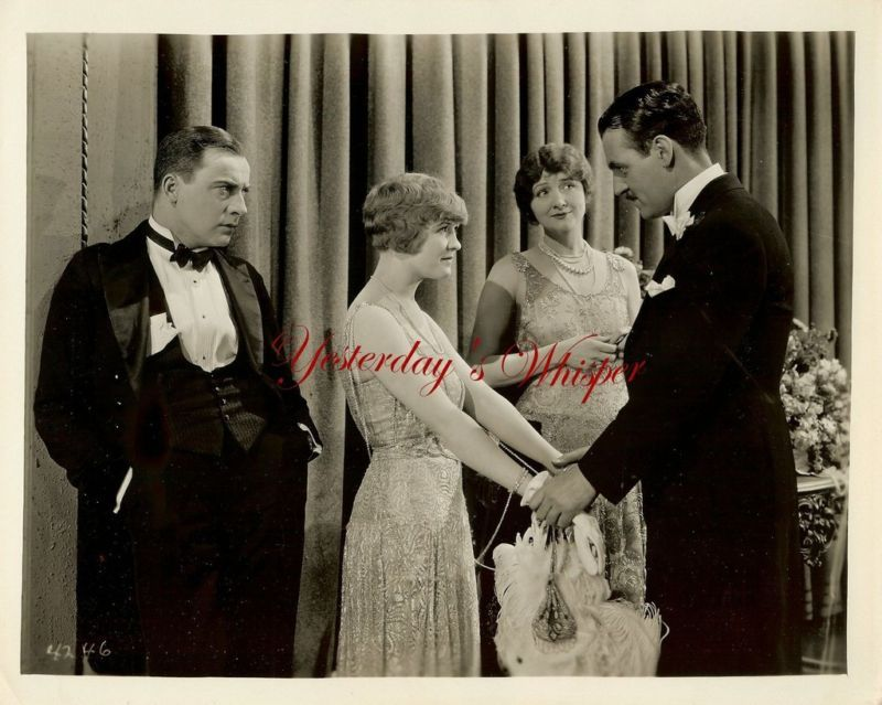 1920s Laura La Plante Hedda Hopper The Teaser B&W Photo