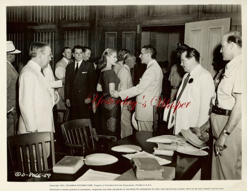 Rita Hayworth Glenn Ford Affair Trinidad Original Photo