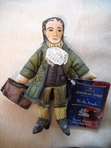 2000 HALLMARK AMERICAN SPIRIT WE THE PEOPLE DANIEL WEBSTER CLOTH FIGURINE - $4.99