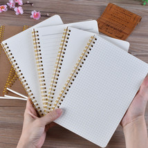 Tan Cover Bullet Journal Sprial Diary Notebook 5.6 x 8.3 inch 100 Page 1... - $9.06 CAD