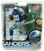 Barry Sanders Detroit Lions McFarlane Action Figure NIB NFL Series 28 Football - $108.89
