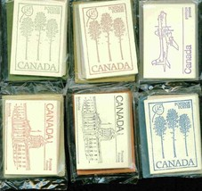 CANADA 1976//1983 6 DIFFERENT PICTORIAL BOOKLETS FACE VALUE $ 30 S12653-A1 - $39.60