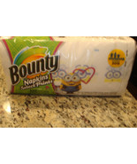 Bounty Quilted Napkins Despicable Me Minions Design New Unopened   - $4,900.00