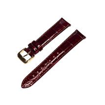 Speidel Premium 16mm Damen Braun Alligator Narbenleder Uhr Band W / E-Z ... - $12.51