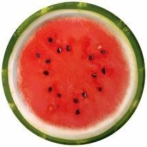 "Watermelon Check Summer Luau Beach Picnic Cookout Party 7"" Paper Dessert... - £5.25 GBP"