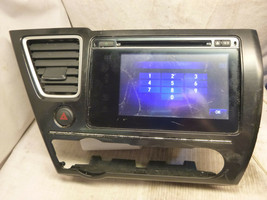 14 15 Honda Civic Touch Radio Cd Player & THEFT CODE 39100-TR6-A52 9XC0 ... - $111.38