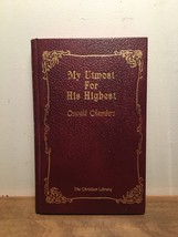 My Utmost For His Highest By Oswald Chambers HC, 1963 - $14.84