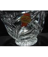 Anna Hutte Bleikristall West Germany 24% Lead Crystal Bowl  - $8.09