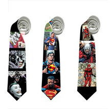 Necktie joker superman antman superheroes comics cosplay neck tie ant-ma... - $22.00