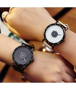 Women Fashion Quartz Watch Lady Leather Watchband Casual Waterproof Wris... - $9.99