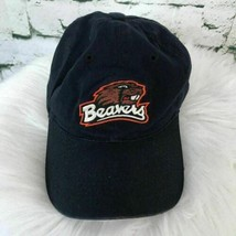 Oregon Beavers Boys Sz L-XL Hat Black Fitted Baseball Cap - $14.84