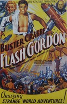 Flash Gordon (3) - Buster Crabbe - Movie Poster Framed Picture - 11 x 14 - $32.50