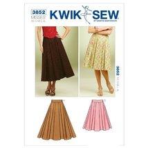 Kwik Sew K3852 Full Skirts Sewing Pattern, Size XS-S-M-L-XL - $15.68