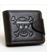 Men Boys One Piece Luffy Wallet Monkey D Luffy Straw Hat Pirates Anime S... - $19.65