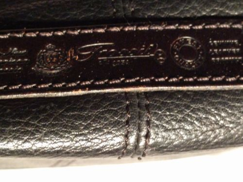 Fossil Genuine Leather Black Shoulder Purse 75082  ZB8023 VINTAGE