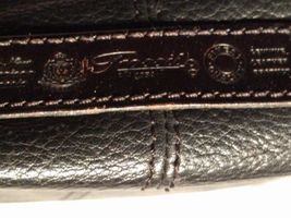 Fossil Genuine Leather Black Shoulder Purse 75082  ZB8023 VINTAGE  image 7