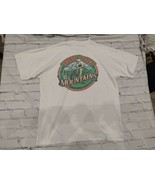 Vintage Late 90s-00 Mountain Diet Dew T-shirt Dew the Mountains cycling ... - $27.12