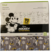 Cricut Disney Mickey The True Original Mickey Set Sail Deluxe Paper- New &Sealed - $13.26