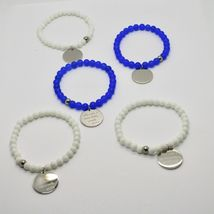 Steel Bracelet or Agate with Anthem Stylish Life of Mother Teresa of Calcutta image 3