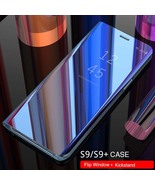 Original Flip Window Shockproof Leather Case Cover for Samsung Galaxy S9... - $10.00