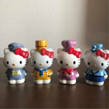 Hello Kitty Condimento Container 4 Set Ceramica Chef 1999 Sanrio Japan R... - $141.81