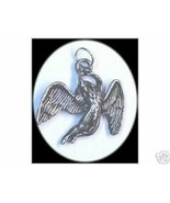 LOOK 2226 New Silver Protect Guardian Angel Pendant Charm - $16.55