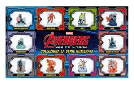 Avengers Age of Ultron Complete Set 10 Figurines 3D Figures - $26.00