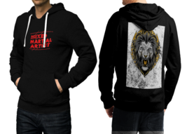 Mma fighter  new black hoodie 2d for men thumb200