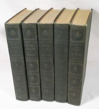5 VINTAGE 1930 VOLUMES ROBERT LOUIS STEVENSON BOOKS STANDARD BOOK CO NEW... - $24.30
