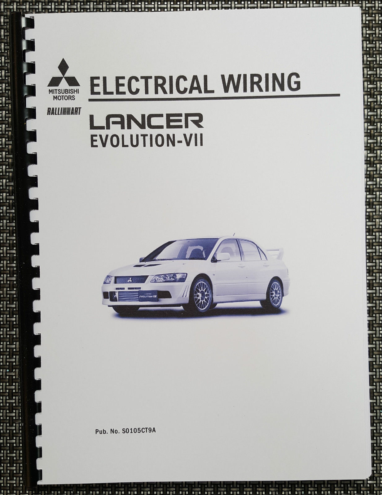 mitsubishi lancer evo vii electrical wiring and 50 similar items rh bonanza com 2014 Mitsubishi Lancer Evolution Mitsubishi Lancer EVO 13