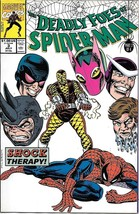 The Deadly Foes Of Spider-Man Comic Book #3 Marvel 1991 Very Fine+ New Unread - $2.50