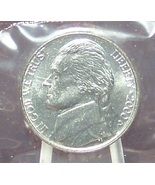 2000-D Jefferson Nickel BU with Full Steps In the Cello #0718 - $5.49