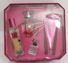 Victoria's Secret BOMBSHELL Eau De Parfum,Shimmer Oil, Wash, Scrub Fragrance Set image 6
