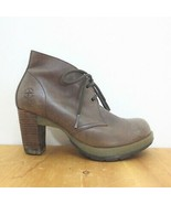 38 / US 7 - Dr. Martens Ankle Lace Up Round Toe Comfort Heeled Boots 3333MC - $45.00