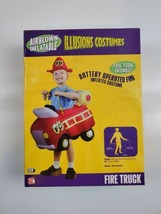 Fire Truck Airblown Inflatable Illusions Costumes New in Box - $14.25