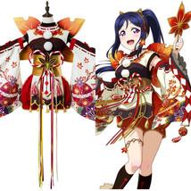 Love Live!Aqours Kanan Matsuura Autumn Viewing Cosplay Costume Kimono Dress Suit - $149.00+