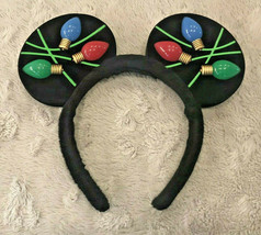 Christmas Mickey Ears Light Up Bulbs Disney Parks Authentic Disneyworld - $19.99