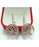 CIRCLE OF LIFE TREE EARRINGS    >> COMBINED SHIPPING <<   (11125) - $2.95